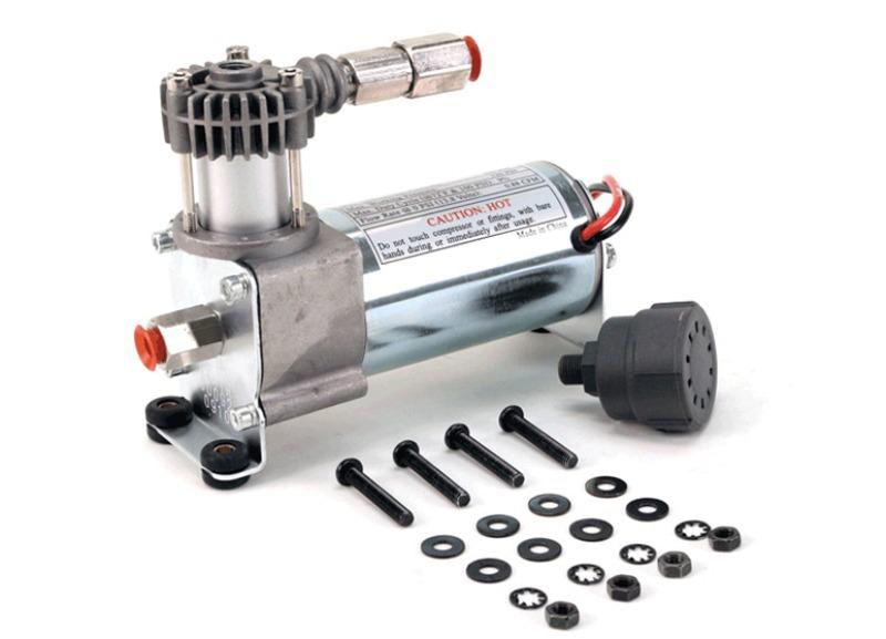 VIAIR vzduchový kompresor 92C Chrom, max. tlak 8,2 bar (120 PSI) / 29 litrů/min