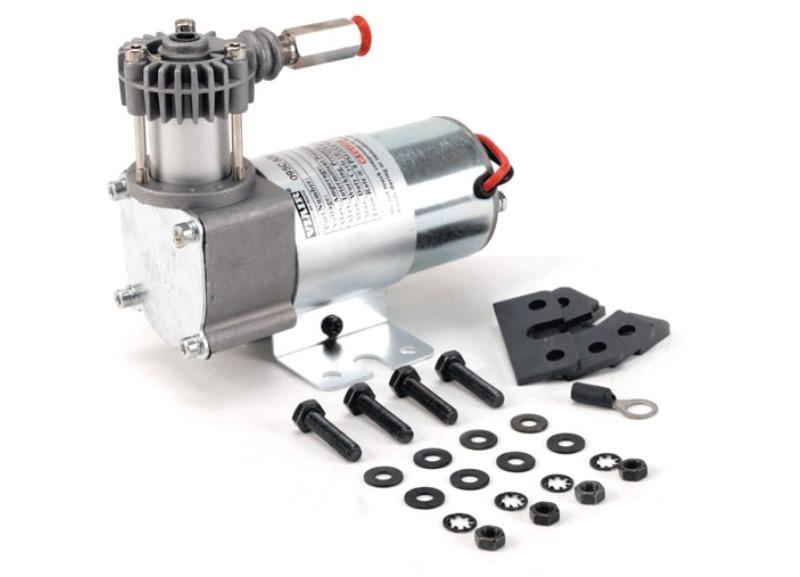 VIAIR vzduchový kompresor 95C Chrom, max. tlak 8,2 bar (120 PSI) / 29 litrů/min, Napětí 12 V