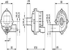 Vodní pumpa Bosch 12V, 15l/min