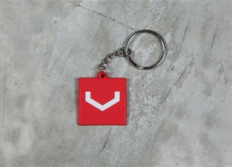 Vossen přívěsek na klíče čtvercový s