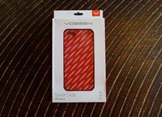 Vossen pouzdro na iPhone 5 červené s logy Vossen