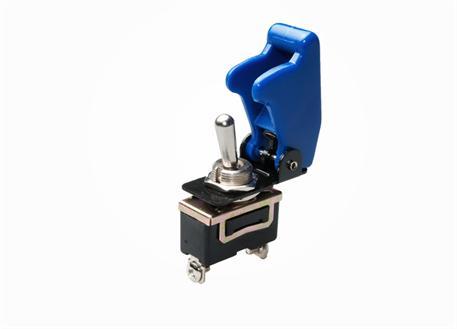 Vypínač 12V 35A včetně modré krytky