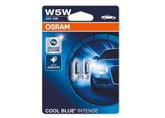 Parkovací žárovky Osram Cool Blue W5W, 2ks (pár)