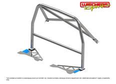 Ochranný rám Wiechers Sport typ Clubsport pro Hyundai Genesis, Coupé, r.v. od 2008- z oceli 25 CrMo 4, lakovaný