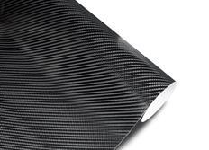Wrapová fólie s 3D efektem  - černý karbon matný v provedení 4D