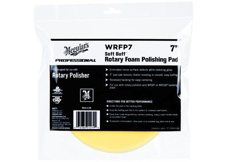 Meguiar's Soft Buff Rotary Foam Polishing Disc 7
