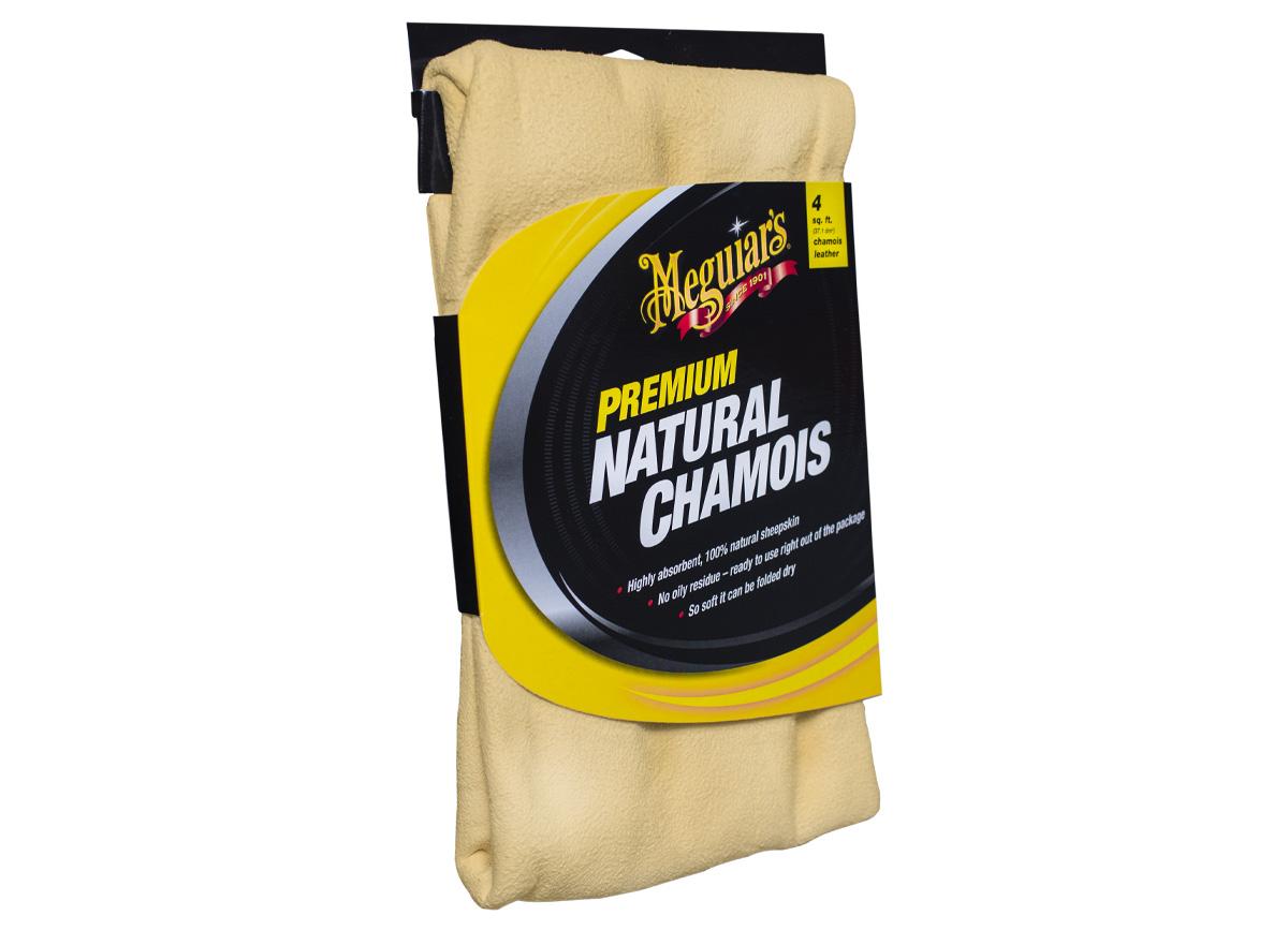 Meguiar's Natural Chamois - luxusní přírodní jelenice