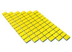 Závaží na kola samolepicí - barva žlutá