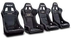 Sportovní sedadla