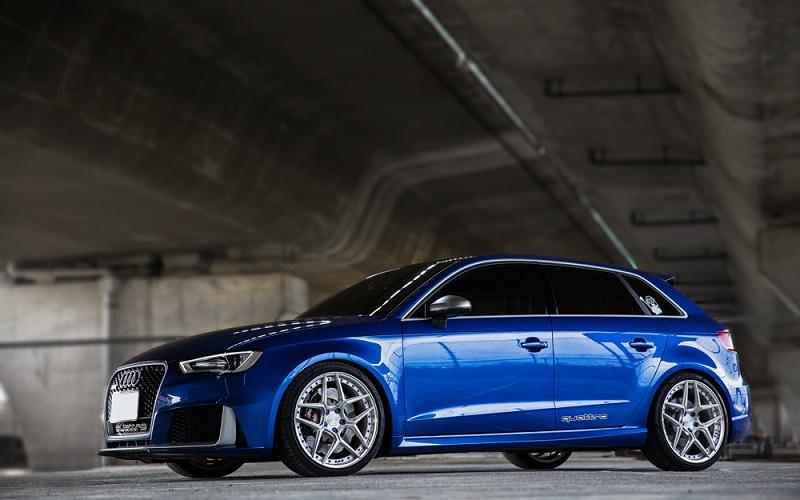Dvoudílná kovaná kola BC Forged na voze Audi RS3
