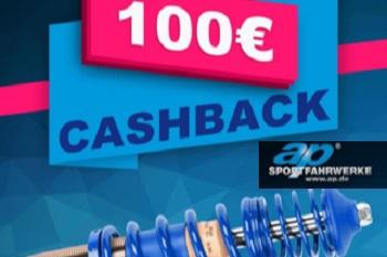 100€ zpět při nákupu stavitelného podvozku ap Sportfahrwerke
