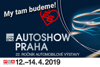 Escape6 bude vystavovat na Autoshow Praha 2019!