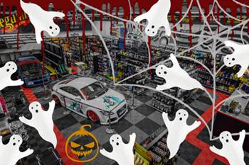 Halloween v Escape6 - podrobné informace