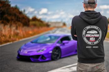 Montáž sportovního podvozku na Escape6 Lamborghini Huracan