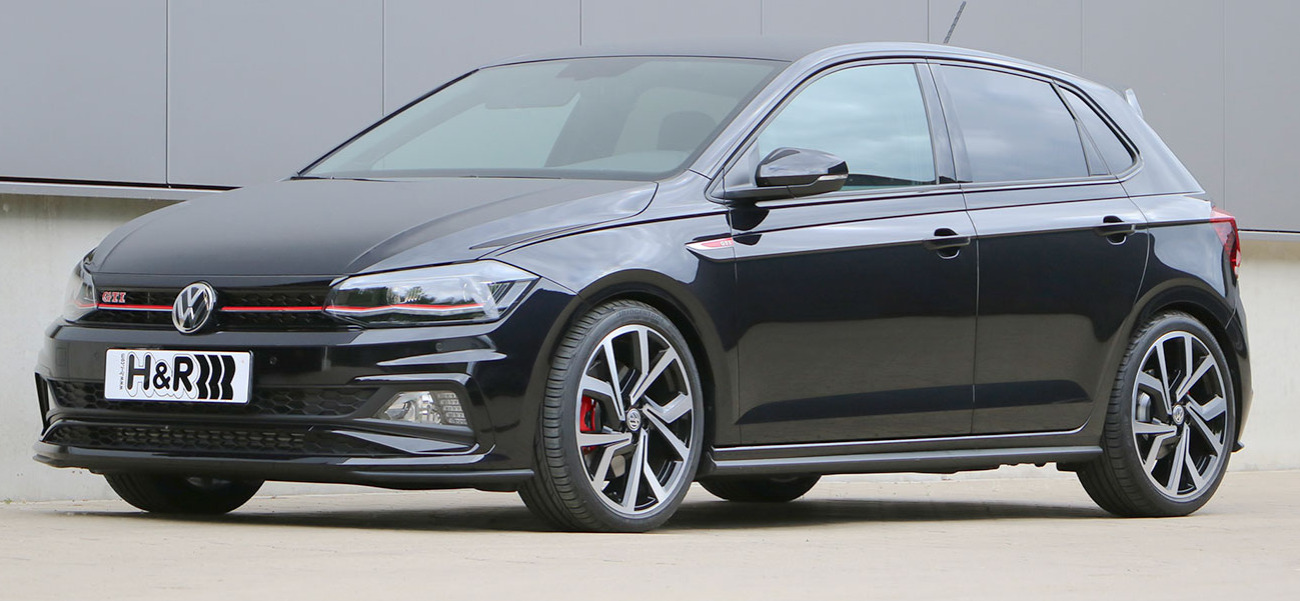 Volkswagen Polo GTI na sportovních pružinách H&R