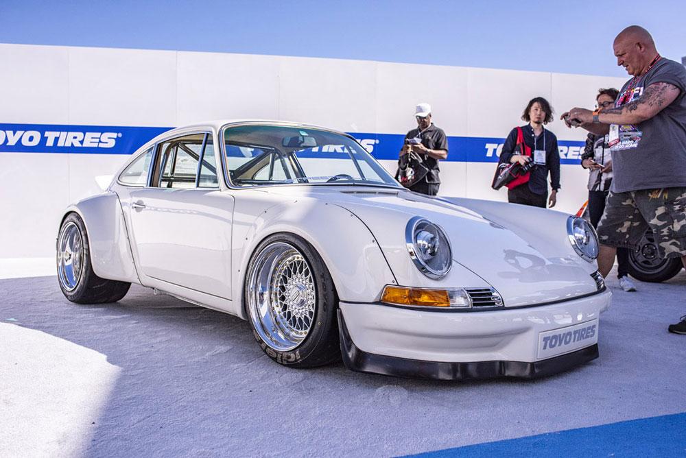 SEMA 2018 Porsche E-RWB