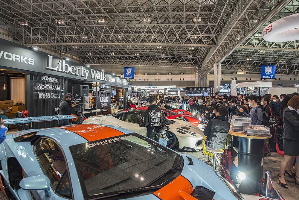 Expozice Liberty Walk na Tokyo Auto Salon 2019