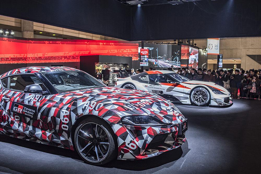 Toyota Supra MK5 na Tokyo Auto Salon 2019