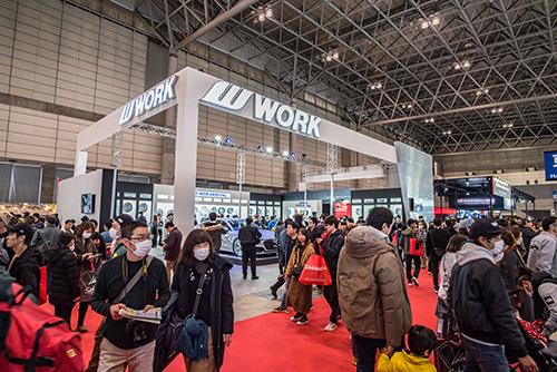 Work Wheels na Tokyo Auto Salon 2019