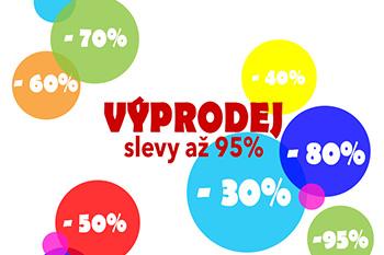 Výprodej se slevami až 95%!