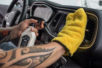 Nová, luxusní detailingová rukavice Meguiar's