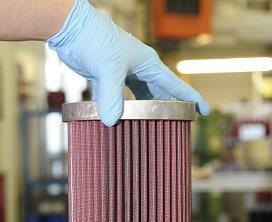 Přísná kontrola při výrobě filtrů BMC