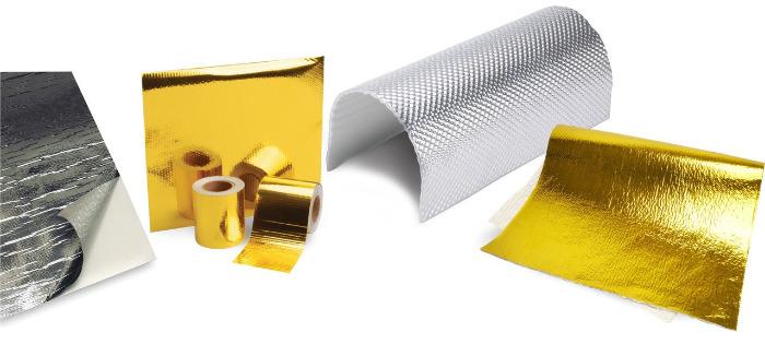 Reflektivní pláty a samolepicí izolace a pásky DEi Design Engineering