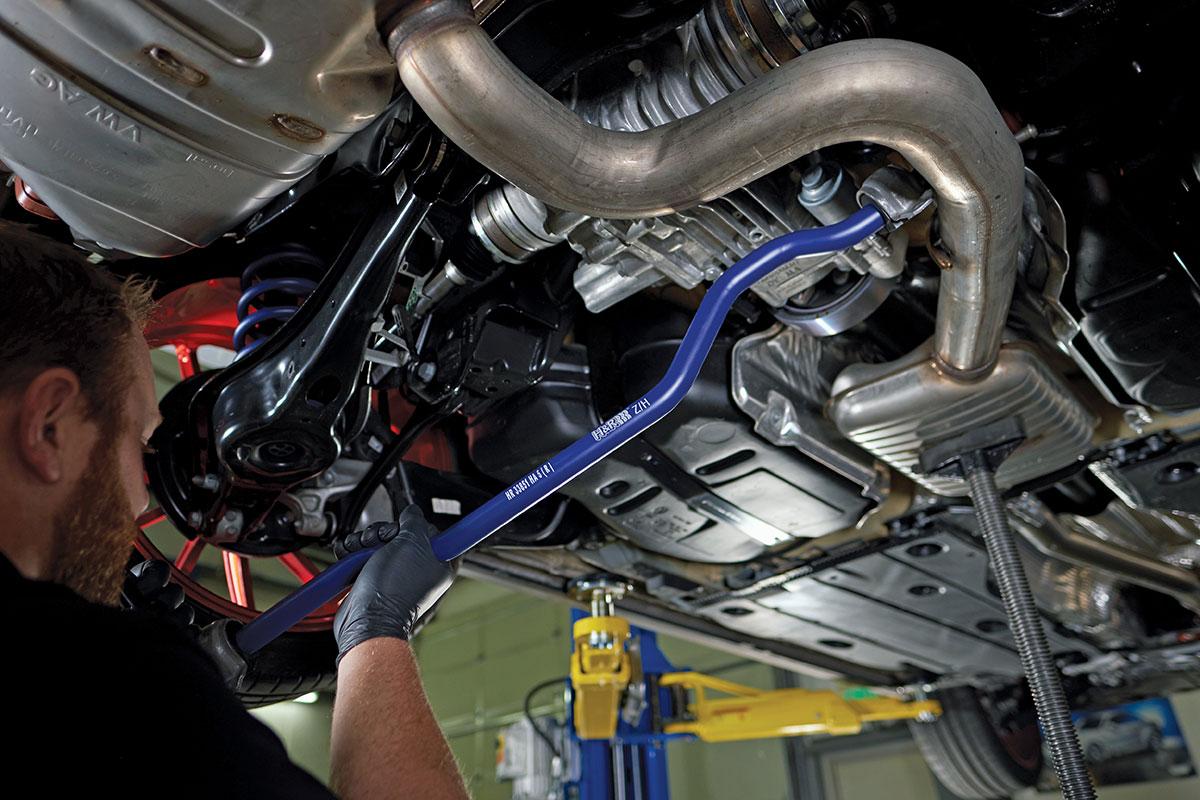Instalace sportovních stabilizátorů H&R