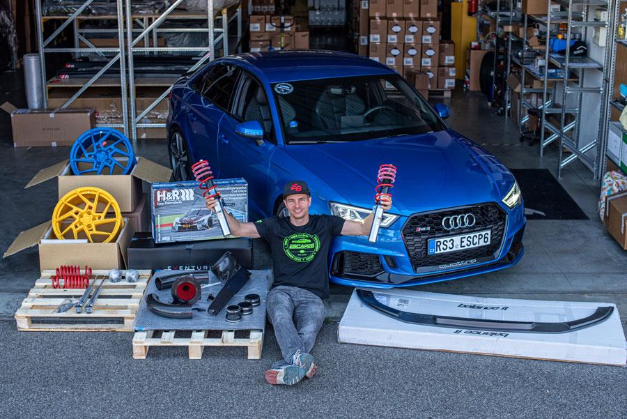 Escape6 Audi RS3 - showcar tuning