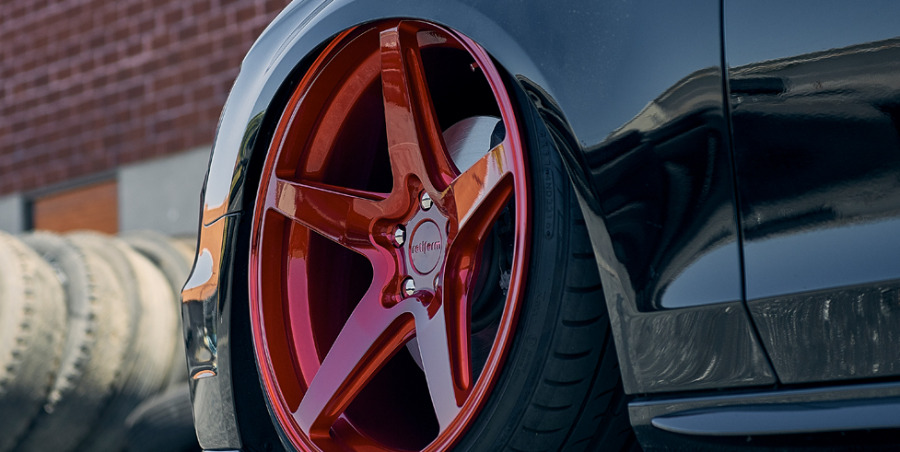 ALU kola Rotiform SIX na voze VW Golf R