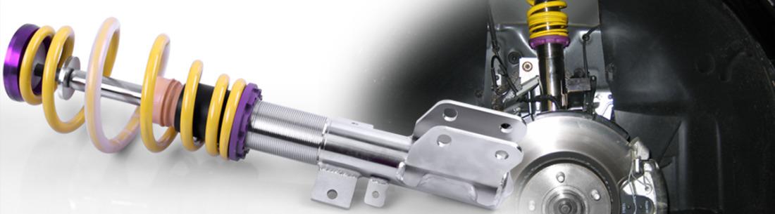 Výškově stavitelný podvozek KW Automotive Varianta 1