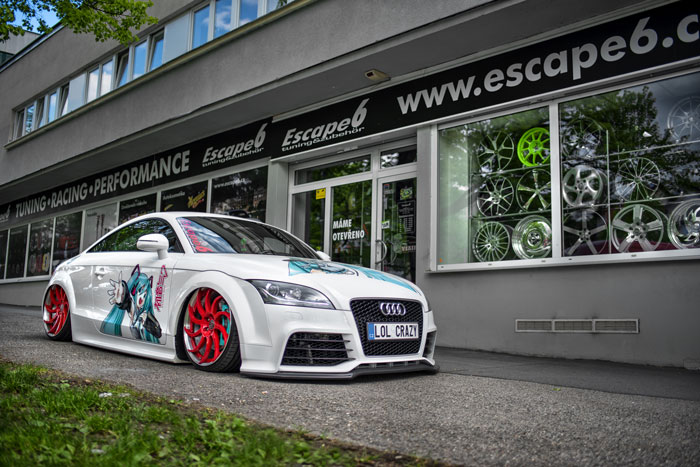 Show Car Escape6 - Audi TT