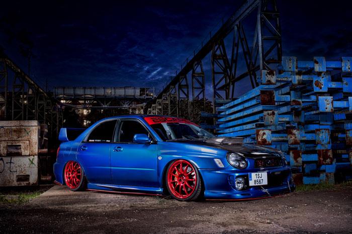 Escape6 Show Car - Subaru Impreza WRX