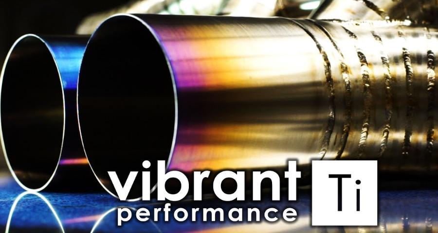 Titanové komponenty pro stavbu výfuků Vibrant Performance