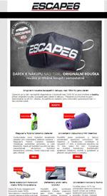 Rouška Escape6 jako dárek k nákupu!