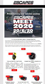 Escape6 Meet 2020 už se blíží!