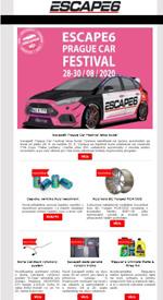 Escape6 Prague Car Festival letos bude!