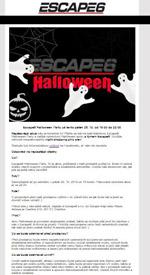 Escape6 Halloween Party už tento pátek!
