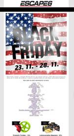 Black Friday vypukl v Escape6