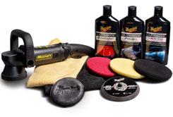 Meguiar's DA Ultimate Kit - kompletní sadapro strojní renovaci, leštění a voskování laku