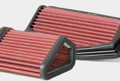 Vložky vzduchových filtrů BMC také pro motocykly