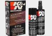 Čisticí sada na vzduchové filtry K&N