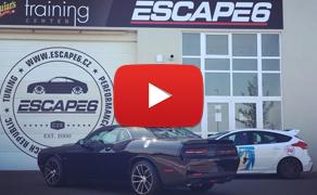 Nový showcar Escape6 - 2018 Dodge Challenger R/T 5,7 V8 HEMI