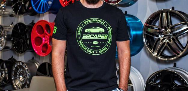 Nová trička značky Escape6!