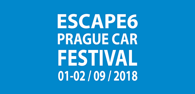 Escape6 Prague Car Festival 1. - 2. září 2018