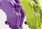 Barvy na brzdy Foliatec fialová (Deep Violet) a
