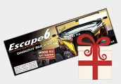 Escape6 dárkové poukazy
