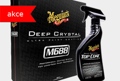 Sleva 20% Meguiar's Deep Crystal Ultra Paint Coating a Top Coat