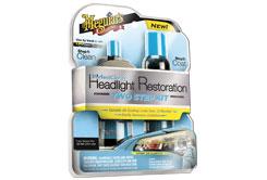 Meguiar's Perfect Clarity Headlight Restoration Kit - revoluční sada na renovaci světlometů a ochranu až na jeden rok!