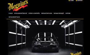 Nový design webových stránek Meguiar's